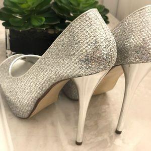 (8) Deb sparkly high heels